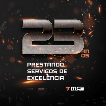 A MCA comemora 23 anos de mercado!