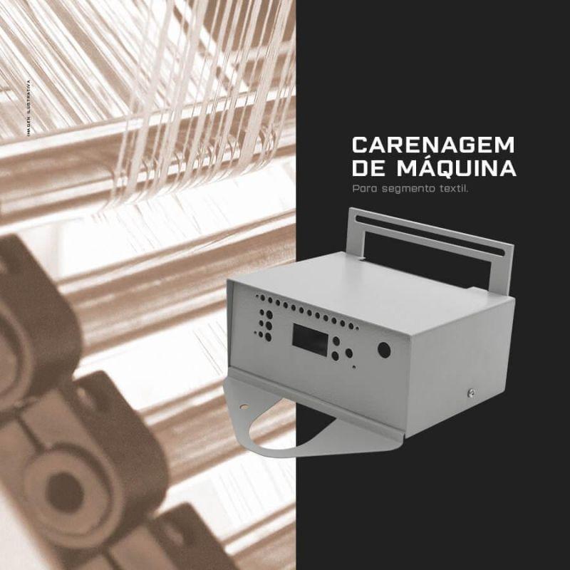 Componente de maquina segmento têxtil